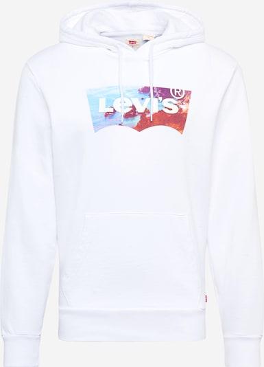 LEVI'S Majica | modra / rdeča / bela barva, Prikaz izdelka