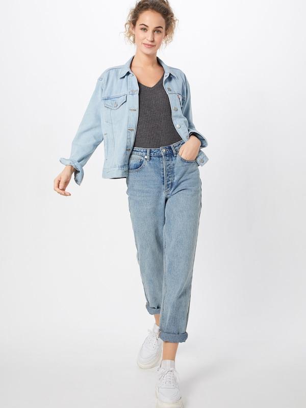 Foncé New Look Oversize T En Gris shirt sBtrodhQCx