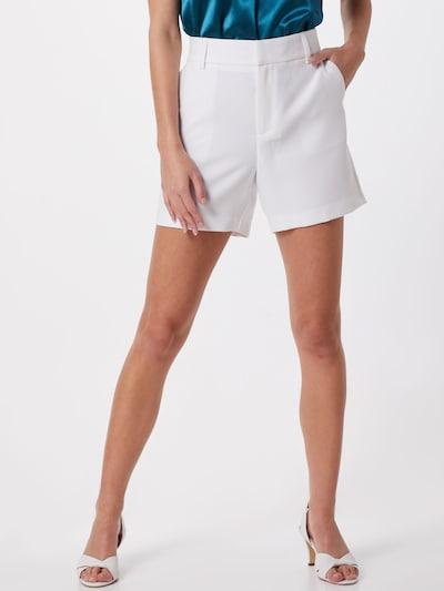 Pantaloni 'Lorna' ONLY pe alb, Vizualizare model
