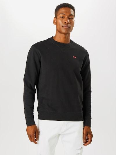 LEVI'S Majica | črna barva: Frontalni pogled