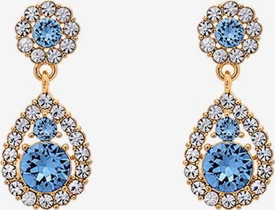 LILY AND ROSE Kolczyki 'Petite Sofia' w kolorze niebieski / złotym, Podgląd produktu