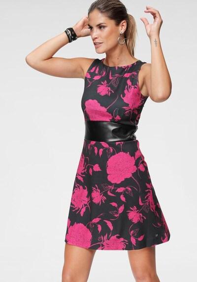 BRUNO BANANI Etuikleid in pink / schwarz, Modelansicht