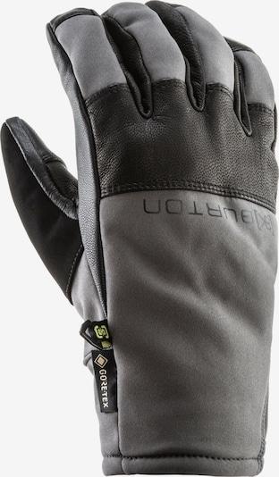BURTON Snowboardhandschuhe in grau / schwarz, Produktansicht