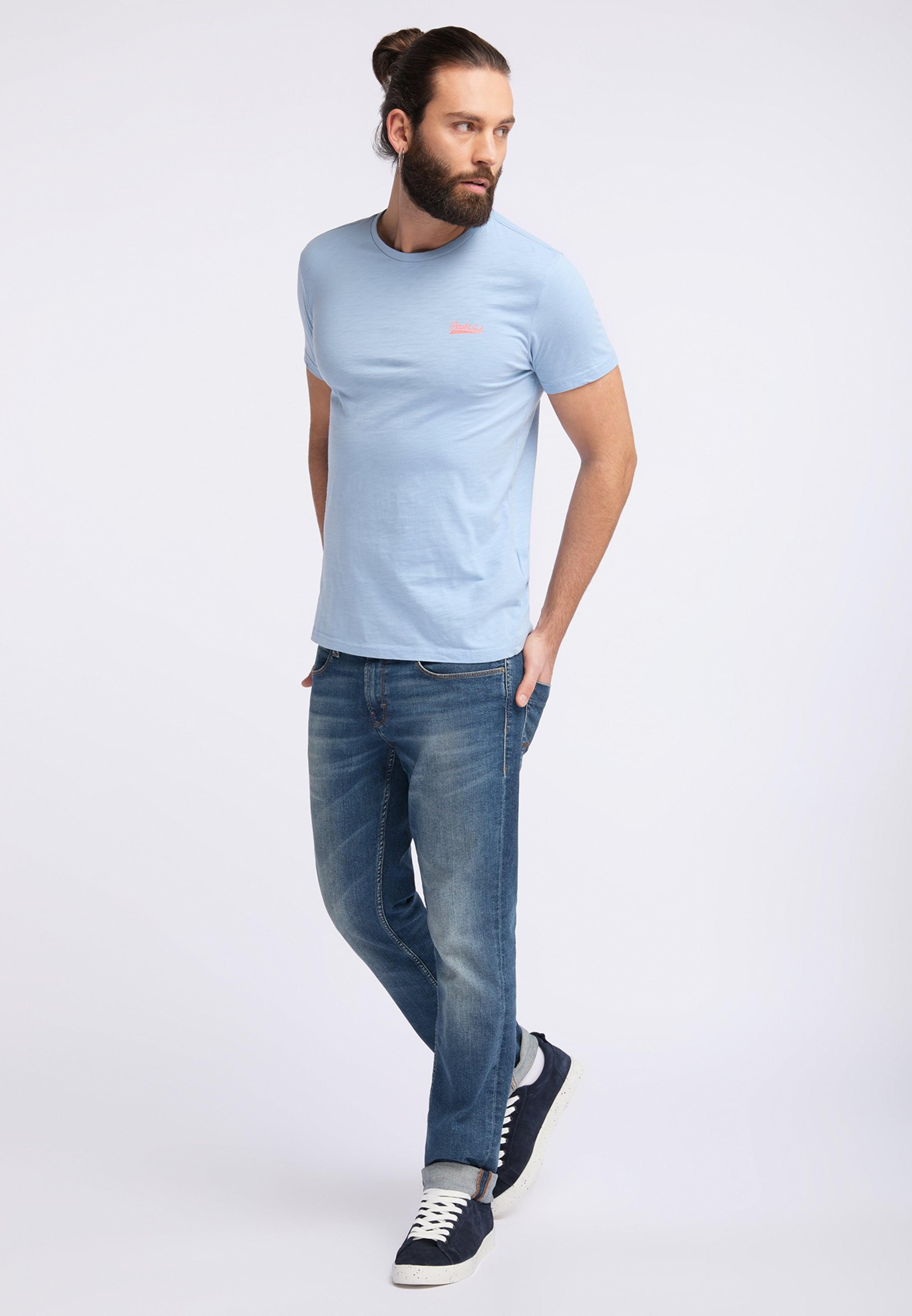 Industries Petrol shirt En Clair T Bleu srhtQd