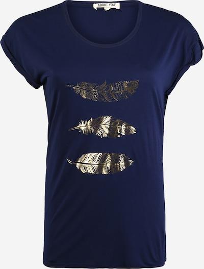 ABOUT YOU Curvy T-shirt 'Antoinetta' en bleu marine, Vue avec produit