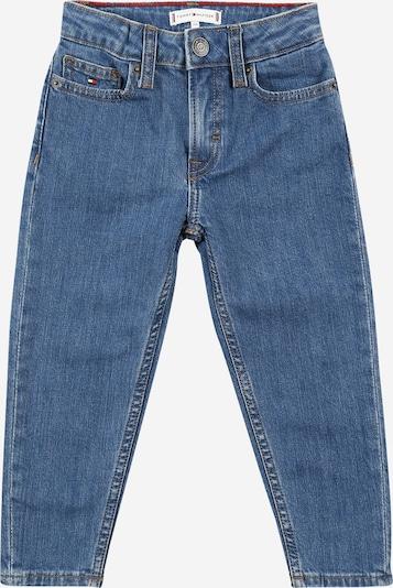 TOMMY HILFIGER Jeans in navy / blue denim / rot / weiß, Produktansicht
