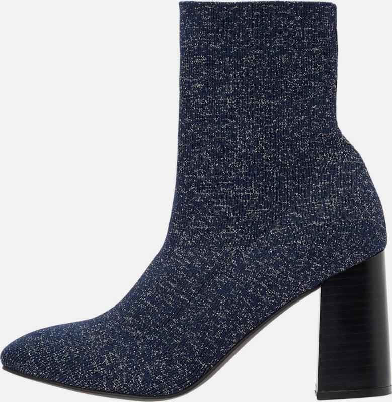 Bianco Ankle Stiefel Textil Bequem, gut aussehend