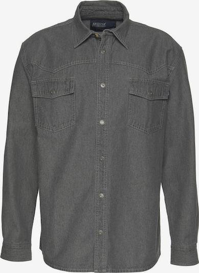 ARIZONA Hemd in grey denim, Produktansicht