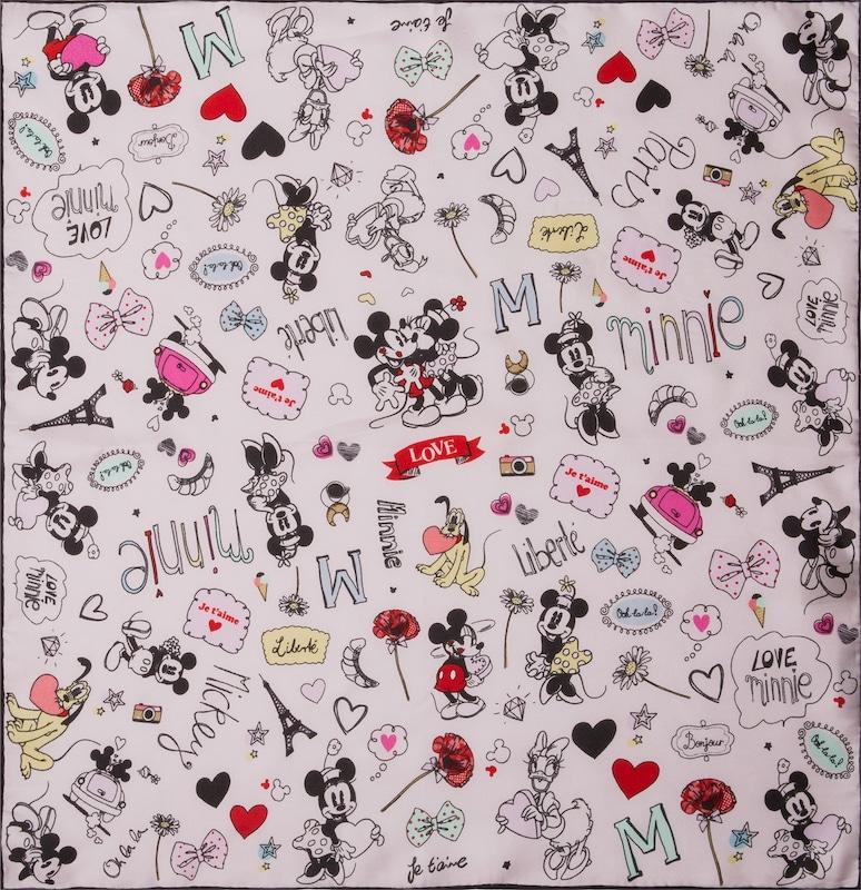 CODELLO Seiden-Tuch mit Disney-Muster