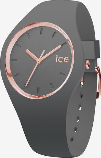 ICE WATCH Quarzuhr in rosegold / grau, Produktansicht