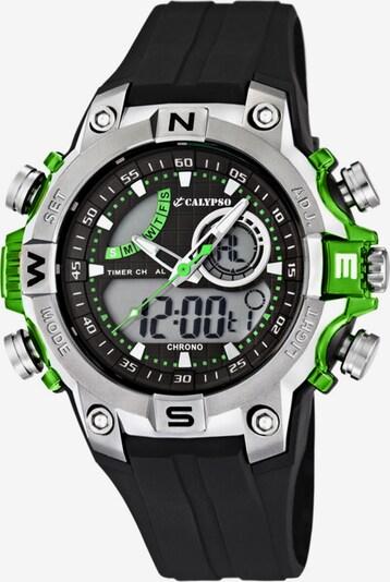 CALYPSO WATCHES Uhr in neongrün / schwarz, Produktansicht