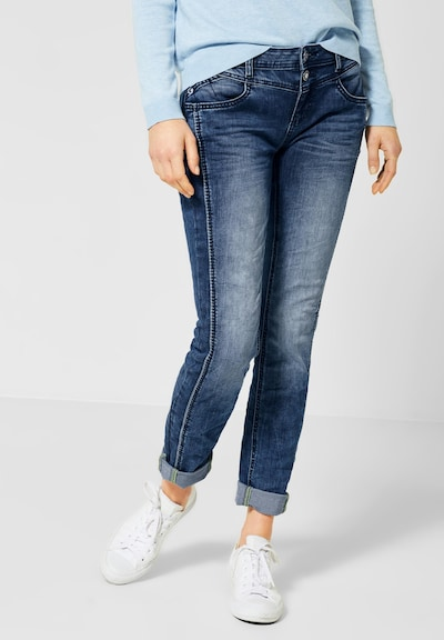 STREET ONE Jeans 'Jane' in blue denim, Modelansicht