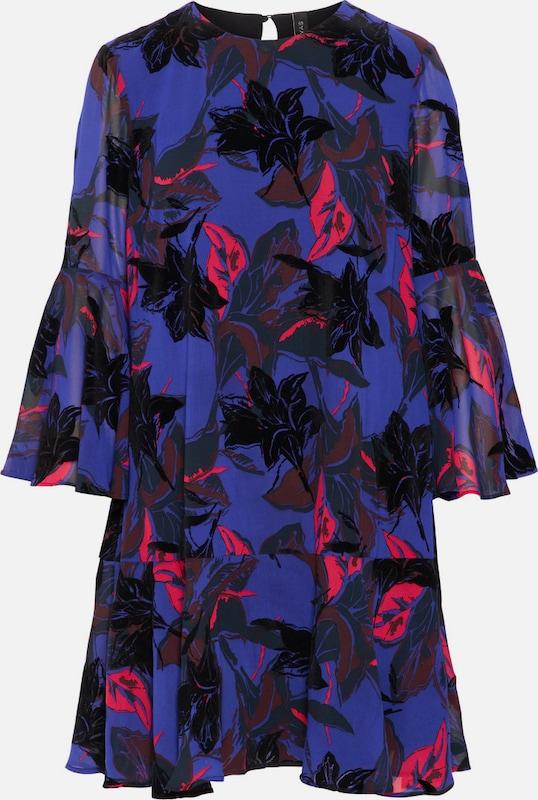 Y.A.S Kleid in blaumeliert   hellrot   schwarz  Bequem und günstig