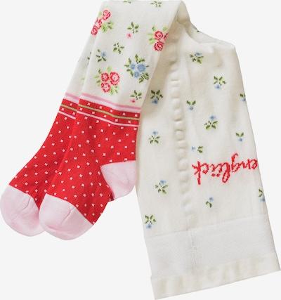 BONDI Strumpfhose in rot / weiß, Produktansicht