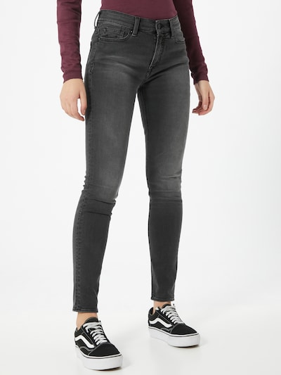 Kings Of Indigo Jeans 'Juno' in de kleur Grey denim, Modelweergave