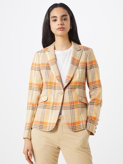 MOS MOSH Blazer in beige / gelb / orange, Modelansicht