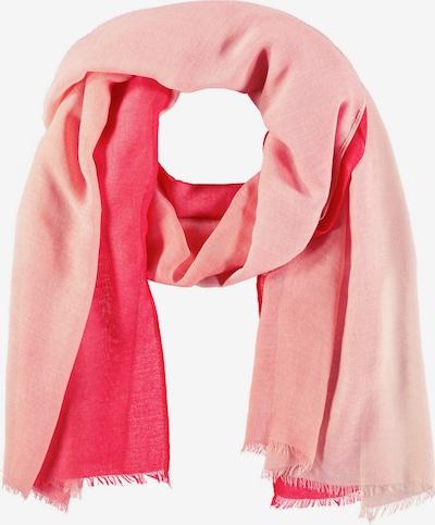 SAMOON Schal mit Farbablauf in rot, Produktansicht
