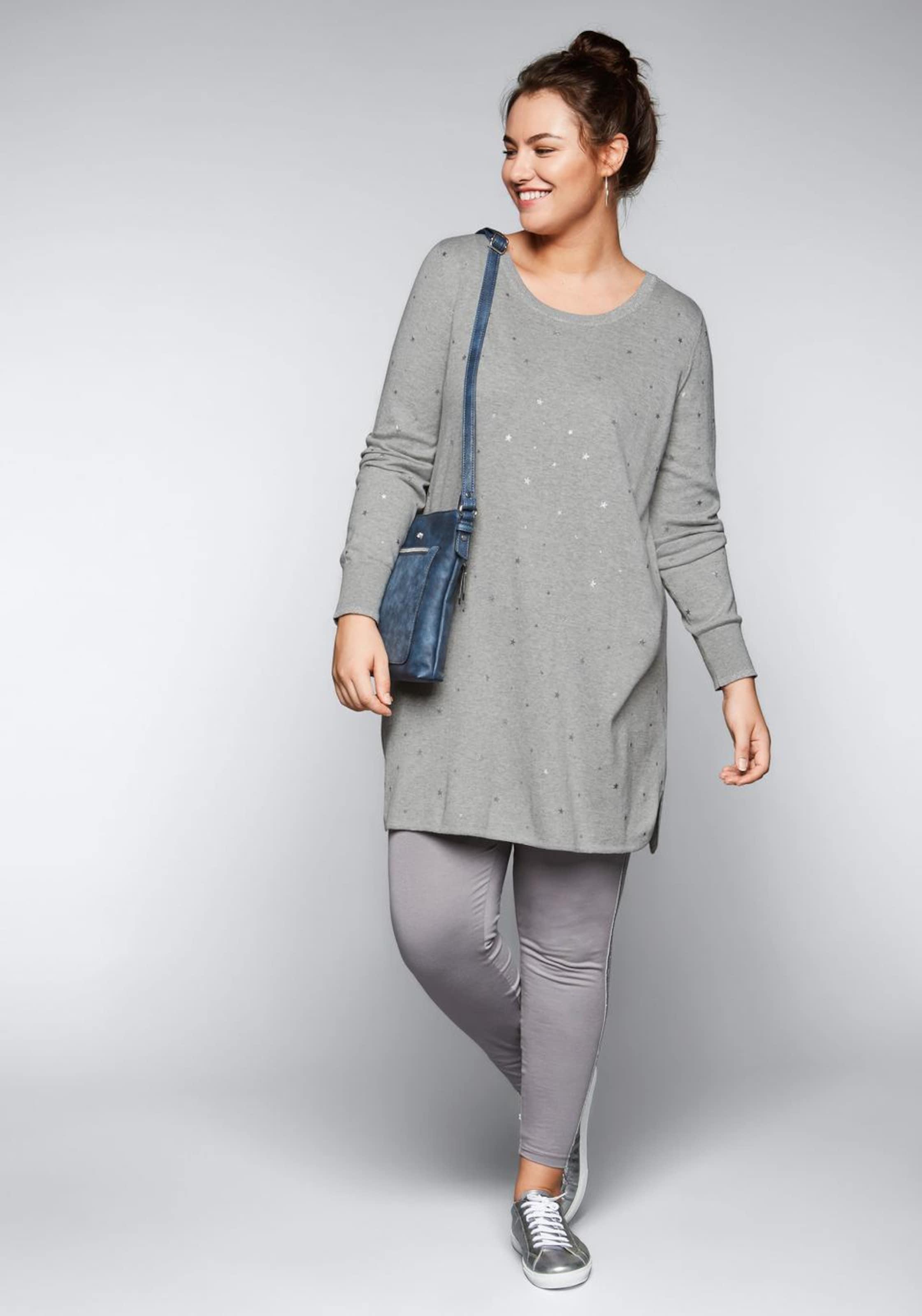 Sheego Sheego In Pullover Sheego In Pullover Pullover In Grau Grau shQdxtrCB