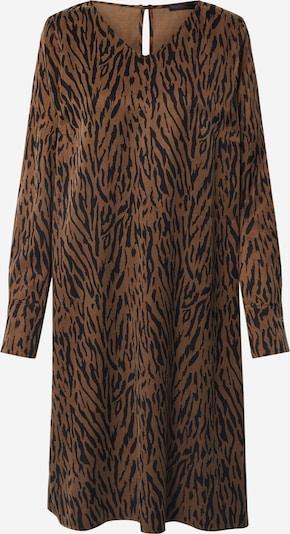 DRYKORN Obleka 'Josy' | rjava / črna barva, Prikaz izdelka