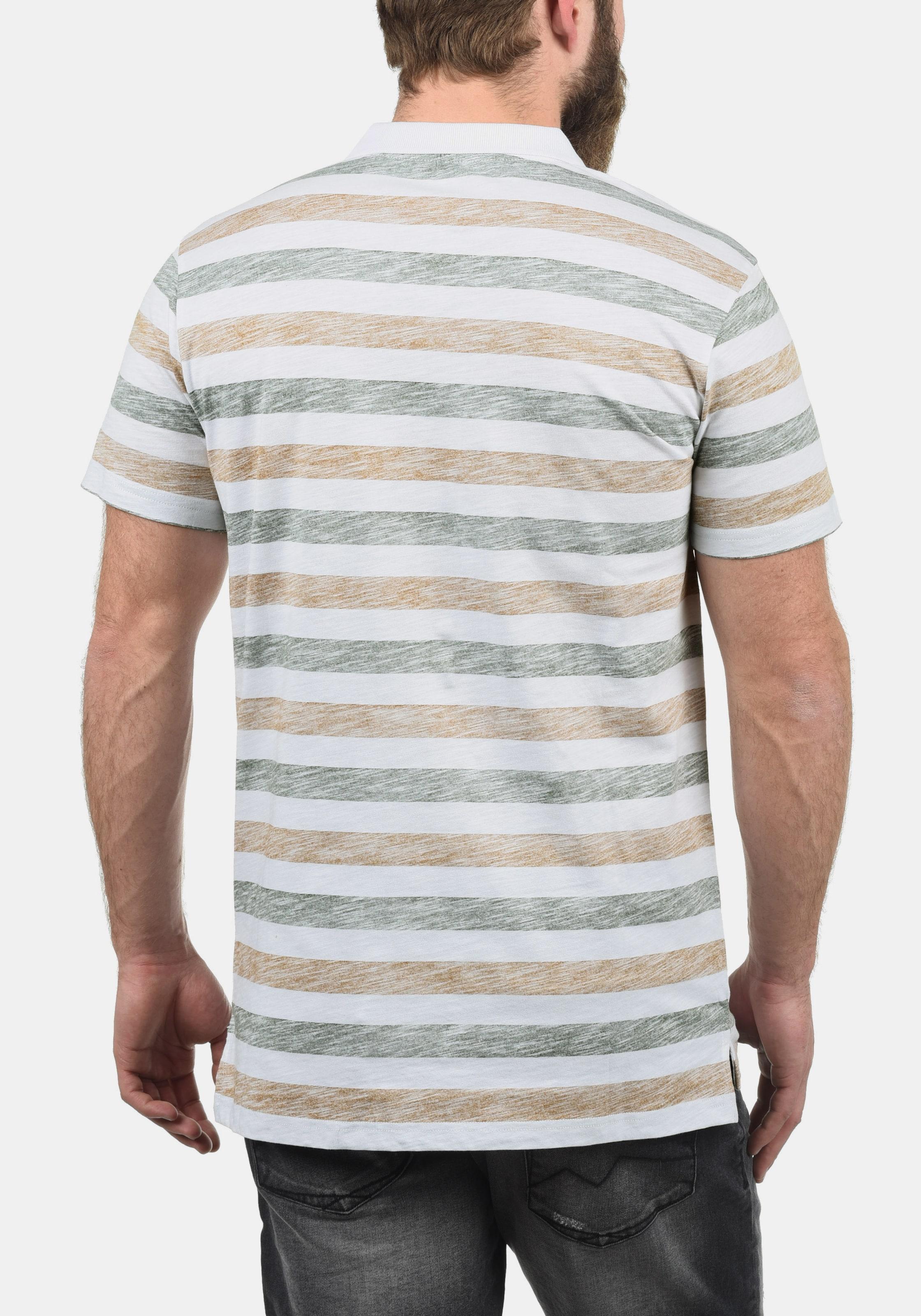 'teto' In Poloshirt Poloshirt 'teto' BraunWeiß BraunWeiß solid In solid 534RjLA