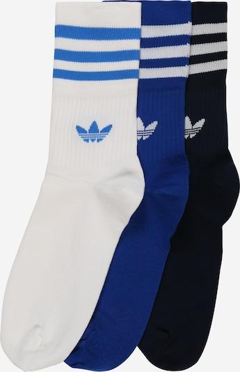 ADIDAS ORIGINALS Socken in blau / dunkelblau / schwarz / weiß, Produktansicht