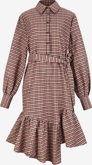 CUBIC Kleid in beige / hellbraun / schwarz, Produktansicht
