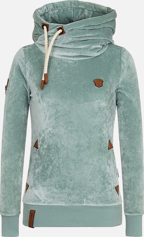 naketano Hoody 'Darth Mack' in mint, Produktansicht