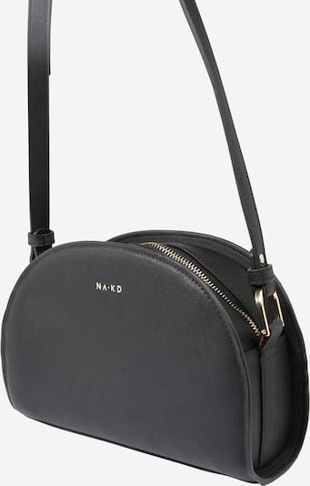 NA-KD Schoudertas in de kleur Zwart, Productweergave