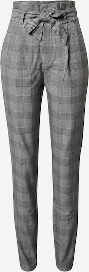 Vero Moda Tall Kalhoty se sklady v pase 'Eva' - světle šedá / šedý melír / černá / bílá, Produkt