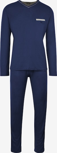 HOM Pyjama-Set 'Relax' in blau, Produktansicht