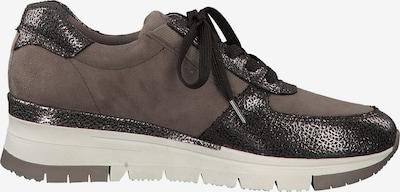TAMARIS Sneaker in braun / taupe: Seitenansicht
