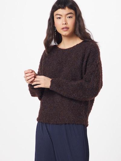 Megztinis iš PIECES , spalva - ruda: Vaizdas iš priekio
