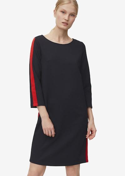 Marc O'Polo Kleid in rot / schwarz, Modelansicht
