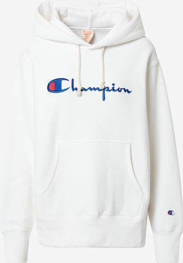 Champion Reverse Weave Mikina - modrá / červená / biela: Pohľad spredu