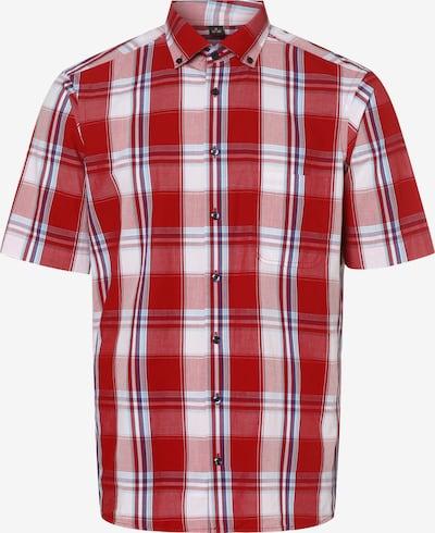 Nils Sundström Hemd ' ' in blau / rot / weiß, Produktansicht