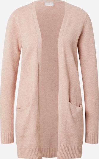 Geacă tricotată 'Ril' VILA pe roz vechi: Privire frontală