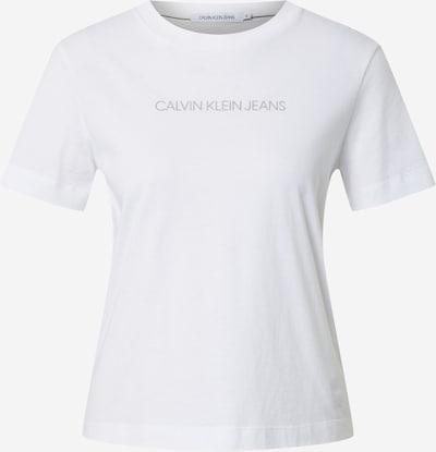 Calvin Klein Jeans Shirt 'SHRUNKEN' in schwarz / weiß, Produktansicht