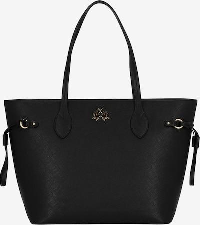 La Martina Valentina Shopper Tasche 32 cm in schwarz, Produktansicht