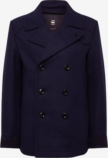 G-Star RAW Tussenjas 'Traction wool peacoat' in de kleur Donkerblauw, Productweergave