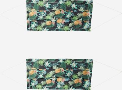 Zwillingsherz Pañuelo '2er Pack Hawaii' en mezcla de colores / negro, Vista del producto