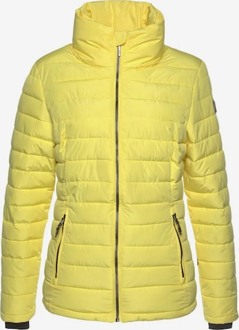 KILLTEC Athletic Jacket in Yellow
