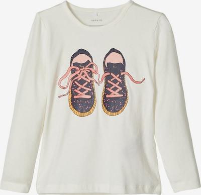 NAME IT Koszulka w kolorze mieszane kolory / białym, Podgląd produktu