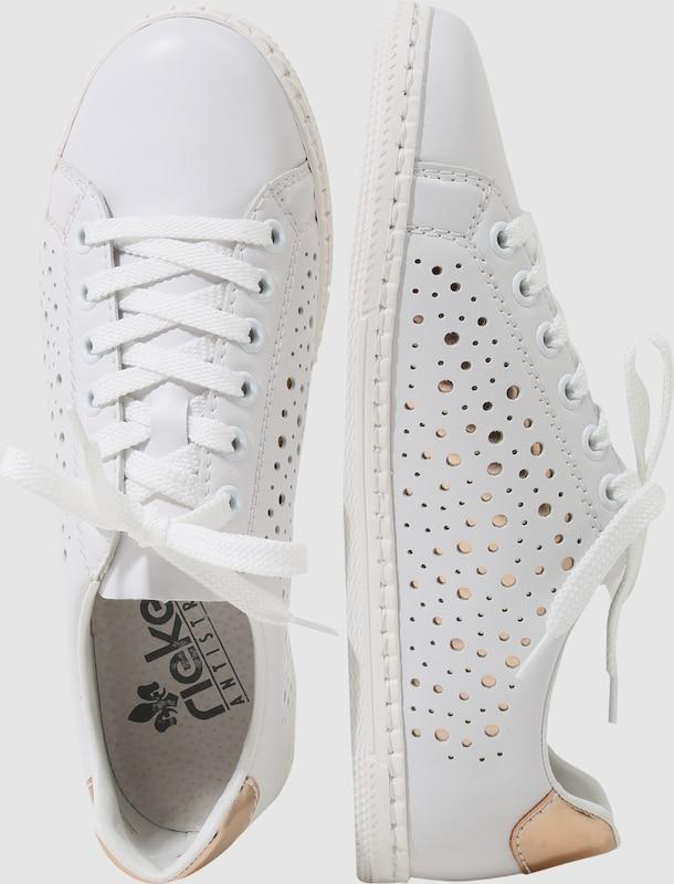 RIEKER Sneaker mit Metallicdetails