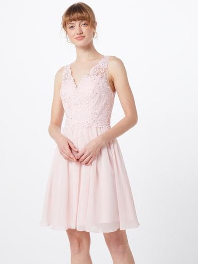 Laona Kleid in rosé / weiß, Modelansicht