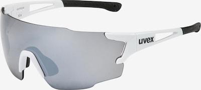 UVEX Sportbrille in grau / weiß, Produktansicht