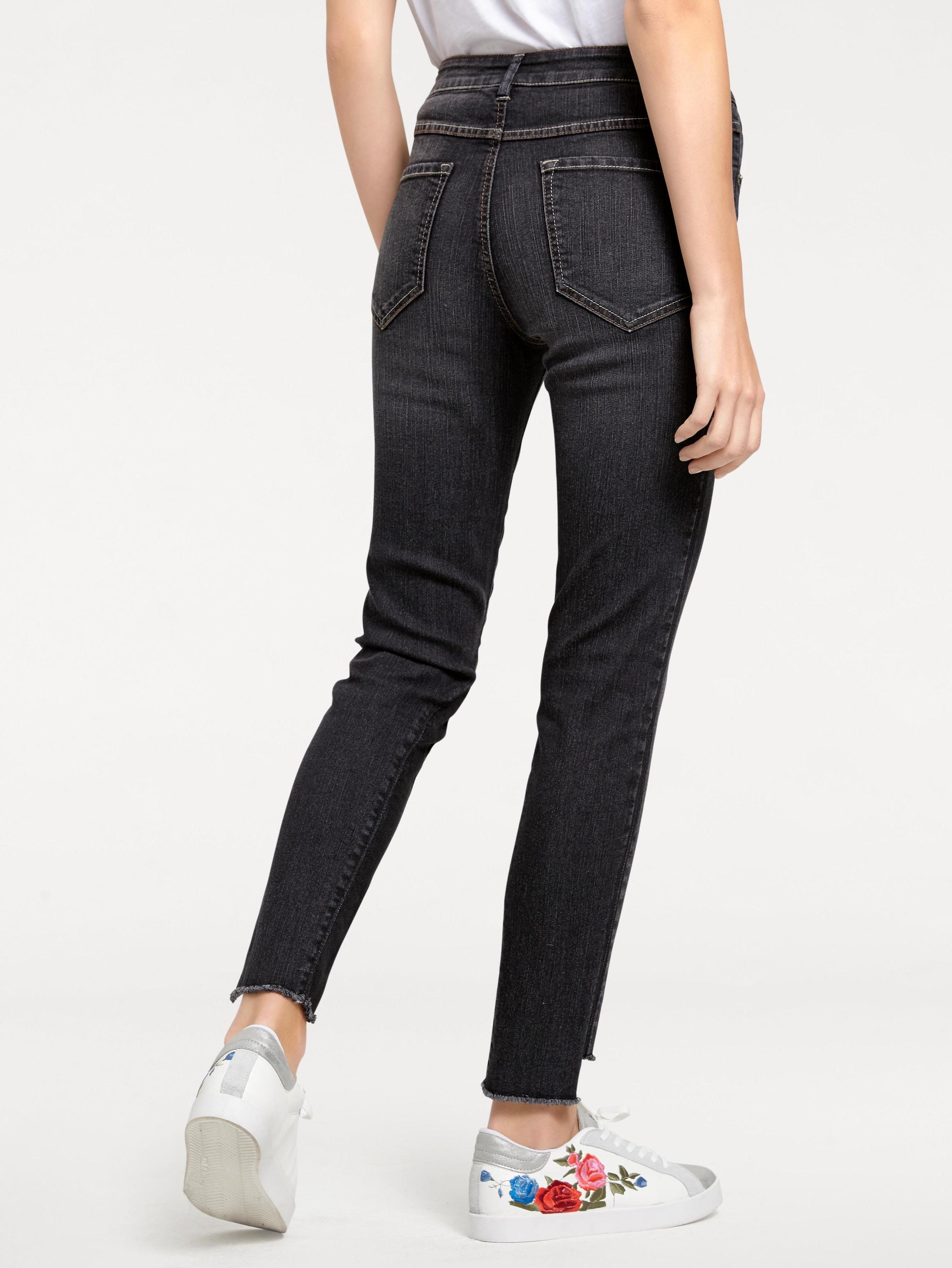 B.C. Best Connections by heine 7/8-Jeans mit Fransen Professionel Rabatt Empfehlen Spielraum Sast Günstig Kaufen 2018 Steckdose Reihenfolge wX1mpvZP