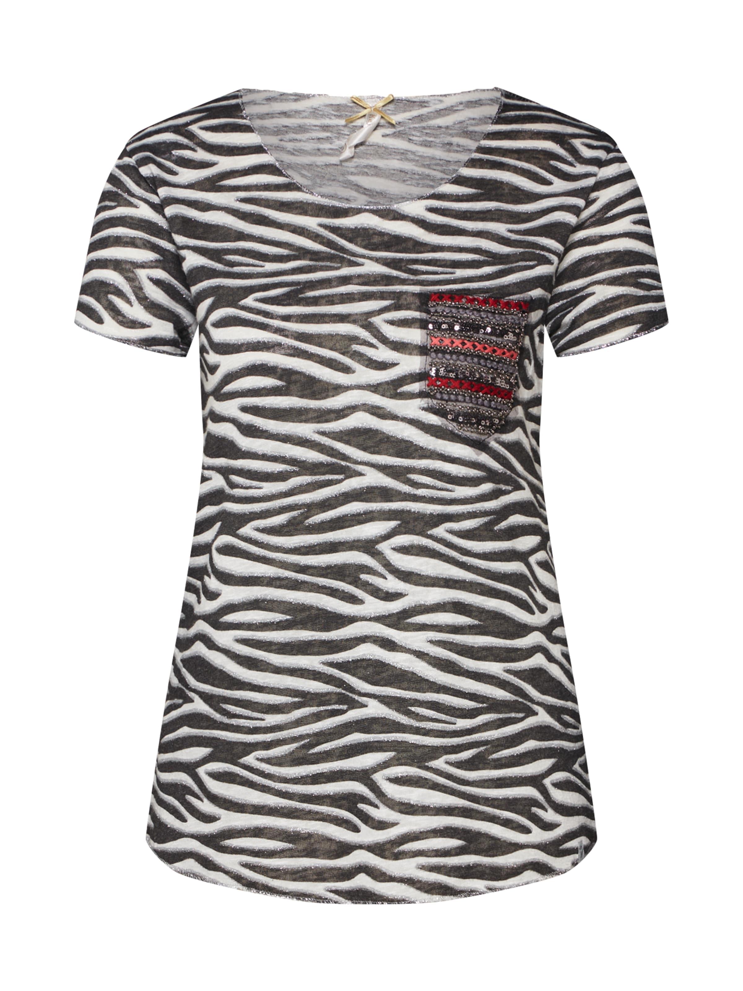Key Blanc En shirt T Largo NoirArgent Cassé shQtrdCxB