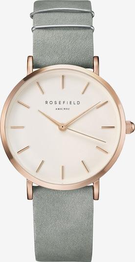 ROSEFIELD Uhr in rosegold / silbergrau, Produktansicht
