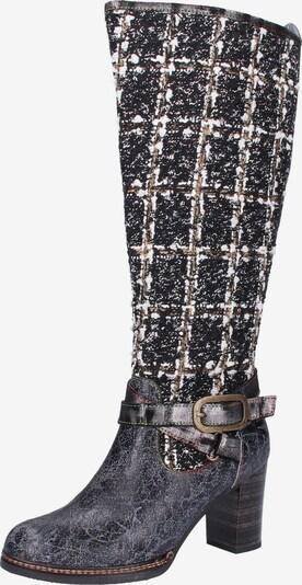 Laura Vita Stiefel in schwarz, Produktansicht