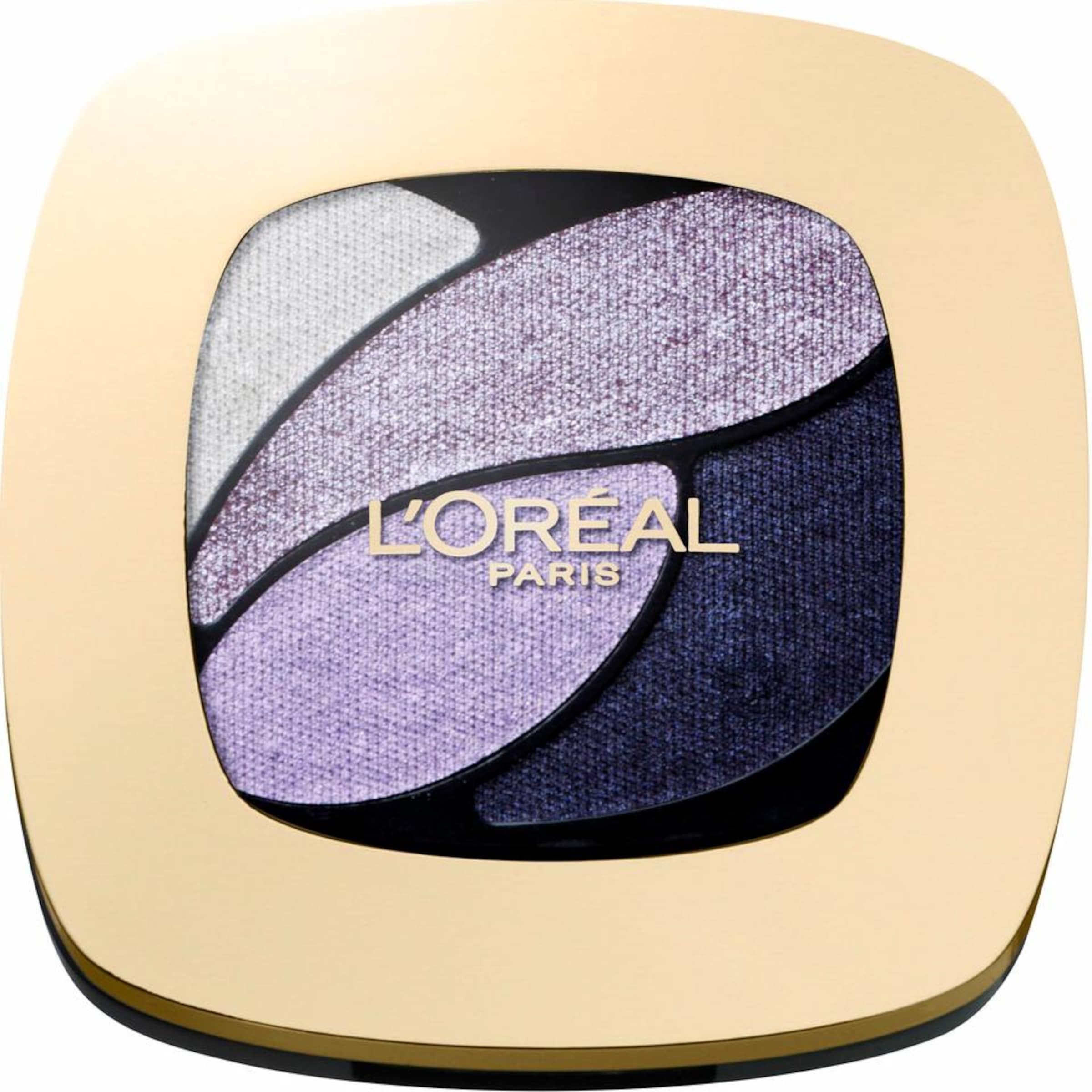 Color L'oréal 'lidschatten Riche Hellpink In Paris LilaViolettblau Quad'Lidschatten Silber rCdxoBe